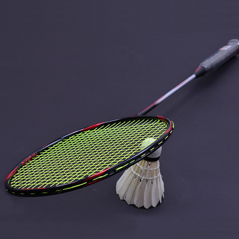 LOKI 6U 72g 22-30LBS Super Light Carbon Badminton Racket 40T Badminton Racquet G4 Gift String Bag
