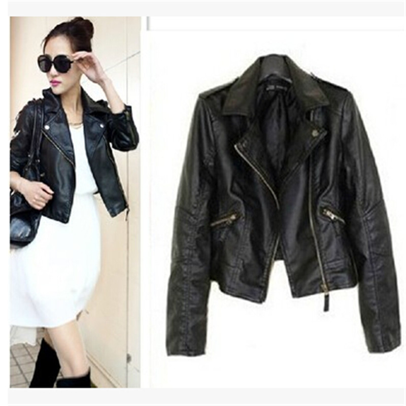 Online Get Cheap Fashion Leather Jackets Women -Aliexpress.com