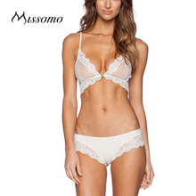 Missomo Solid White Bra