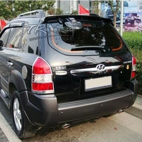 MONTFORD For Hyundai Tucson Spoiler 2005 2012 ABS Plastic Unpainted Color Rear Trunk Boot Wing Rear Roof Spoiler Car Accessories