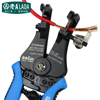 LAOA Multi fonction Automatic Wire Stripper High quality zinc alloy Material Brand Pliers Electric Tool Gift Box