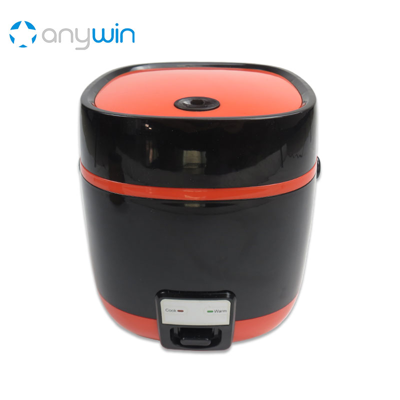 1.2L Mini Rice Cooker Cauldron Baby Cook Heating Lunch Box Home Appliances Caoutchouc Cast Iron Container for Soup Multivarka smart electric rice cooker 3l alloy ih heating pressure cooker home appliances for kitchen smartphone app wifi control