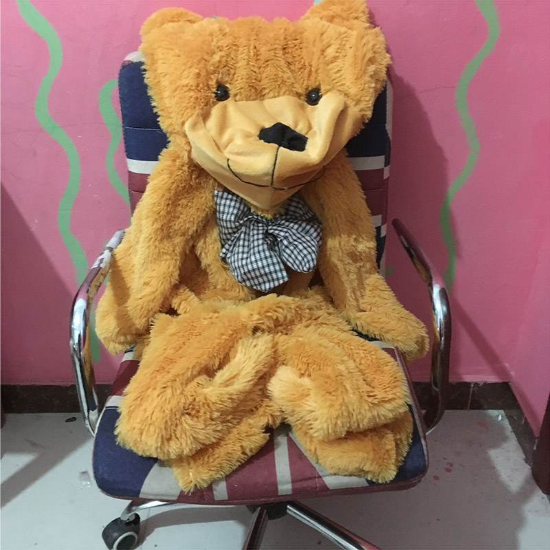 140 cm/55 inch Semi-finished bear skin Plush toys baby Pillows without stuffed bearskin Plush Toys fancytrader biggest in the world pluch bear toys real jumbo 134 340cm huge giant plush stuffed bear 2 sizes ft90451