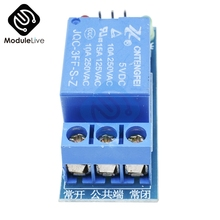 10PCS DC AC 220V 1CH 1 Channel Relay Module Interface Board