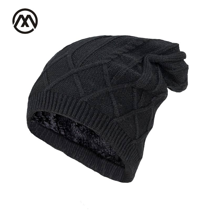 Winter skiing Beanies Knitted Hat Men's Winter Hats For Women Men Caps Gorros Warm Moto Fur Winter Beanie Fleece Knit Bonnet Hat car usb sd aux adapter digital music changer mp3 converter for skoda octavia 2007 2011 fits select oem radios