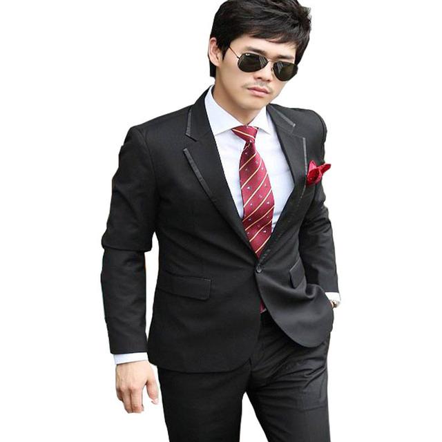 2016 New Arrival Fashion Men Slim Suits Mens Business Formal Suit with Pants Vest Tuxedo Bridegroon Wedding Suits for Men 210