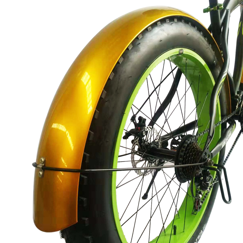 Leopard voando asas Bicicleta fender Bicicleta Snowmobile bicicleta asa material de Ferro Forte e durável cobertura Completa frete grátis