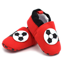 2016 autumn/winter Baby Shoes Red football Newborn Boys Toddler shoes Toddlers Soft Sole First Walkers Boys Girls Footwear Drop