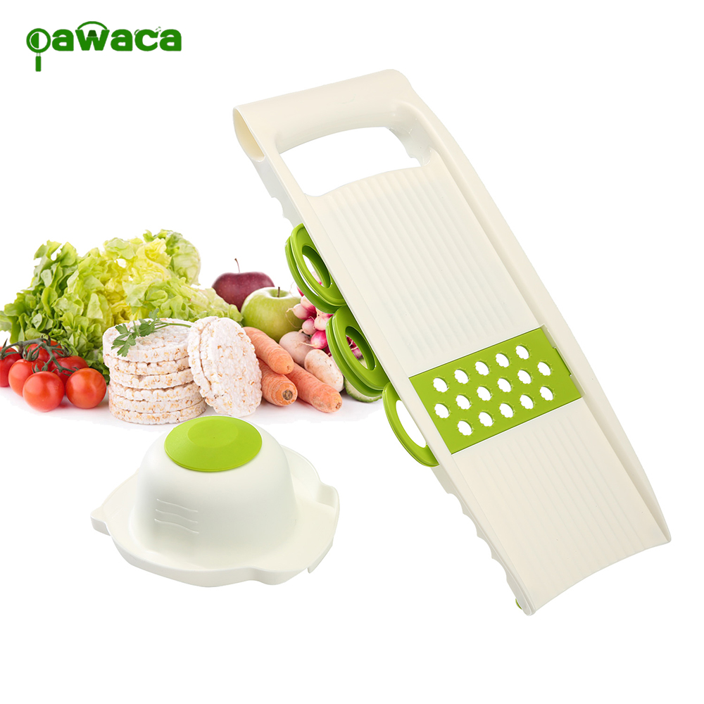 7pcs/set Household Multi-purpose Vegetable Choppers Garlic Potato Cut Slices Grinding Shaver Fruit&Vegetable Tools