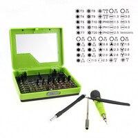 53pcs/lot Cellphone Repair Tool Kit Multi-purpose Screwdriver Set For iPhone Mac iPad Samsung Magnetic Torx PH Pentalobe Tools