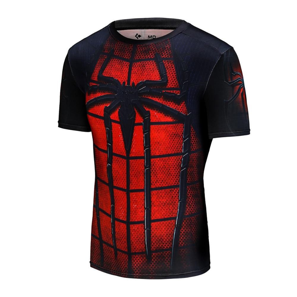 2017 erkek ünlü marka hızlı kuru t shirt spor erkekler - Erkek Giyim - Fotoğraf 2