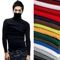 2016 Men Winter Turtleneck Pullover Thermal Sweater Long sleeve Slim Fit Cotton Pullover men sweater turtleneck