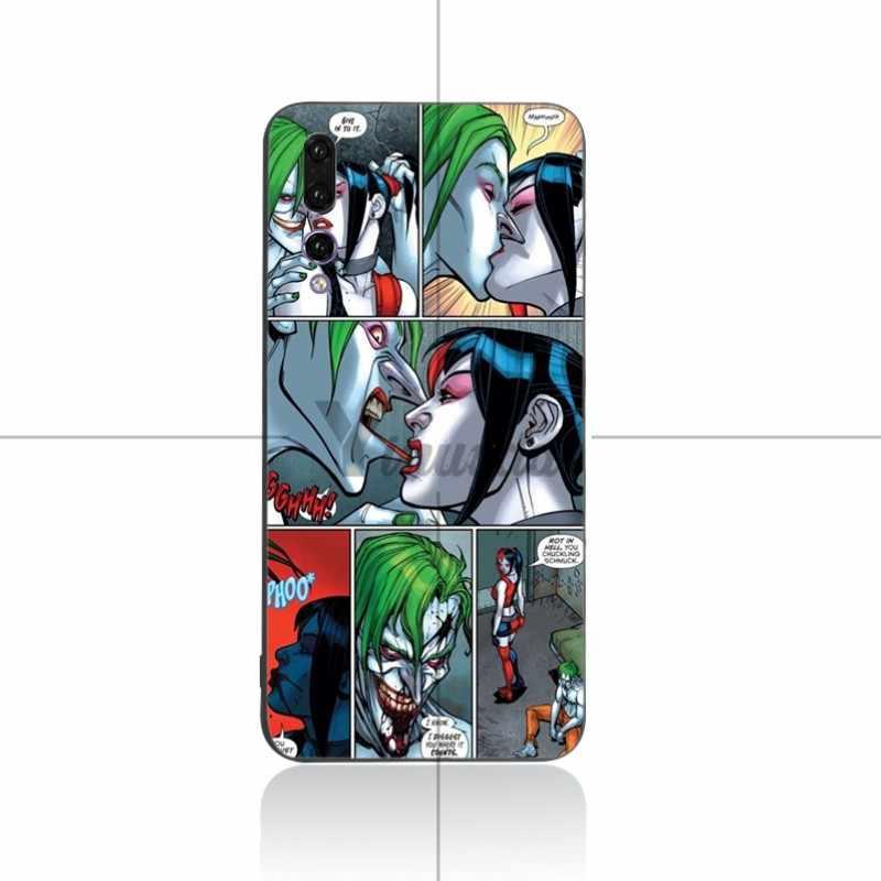 Yinuoda Joker harley quinn Souple étui en silicone Pour Huawei P9 P10 P10plus P20 P20pro NOVA2 honor9 honor10 V9 V10