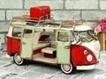 Antikes auto modelle handmade retro metall handwerk klassische camper RV für ornamente home esszimmer dekorationen Vw bus|rv camper|rv modelsrv decorations -
