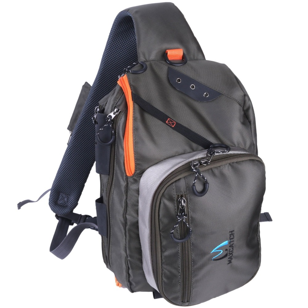 Maximumcatch fly fishing fco sling back pack outdoorsport for Fly fishing sling pack