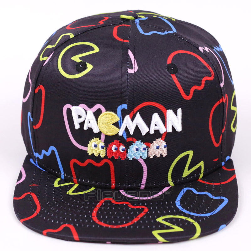 34565bf0717 Detail Feedback Questions about Game Pacman Cosplay Cap Pac man Fashion  Brand Unsiex Adult Sunny Hat Causual Summer Hiphop Snapback Caps on  Aliexpress.com ...