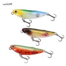 TSURINOYA 12PCS/LOT Long casting pencil fishing lure 5g/5cm 12colors Mini Topwater hard  Floating Pencil