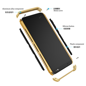 Image 2 - Case Voor Xiaomi Redmi Note 8 Pro Aluminium Metalen Frame Hard Plastic Cover Voor Xiaomi Redmi Note 8 Pro fundas Perfecte Gevoel
