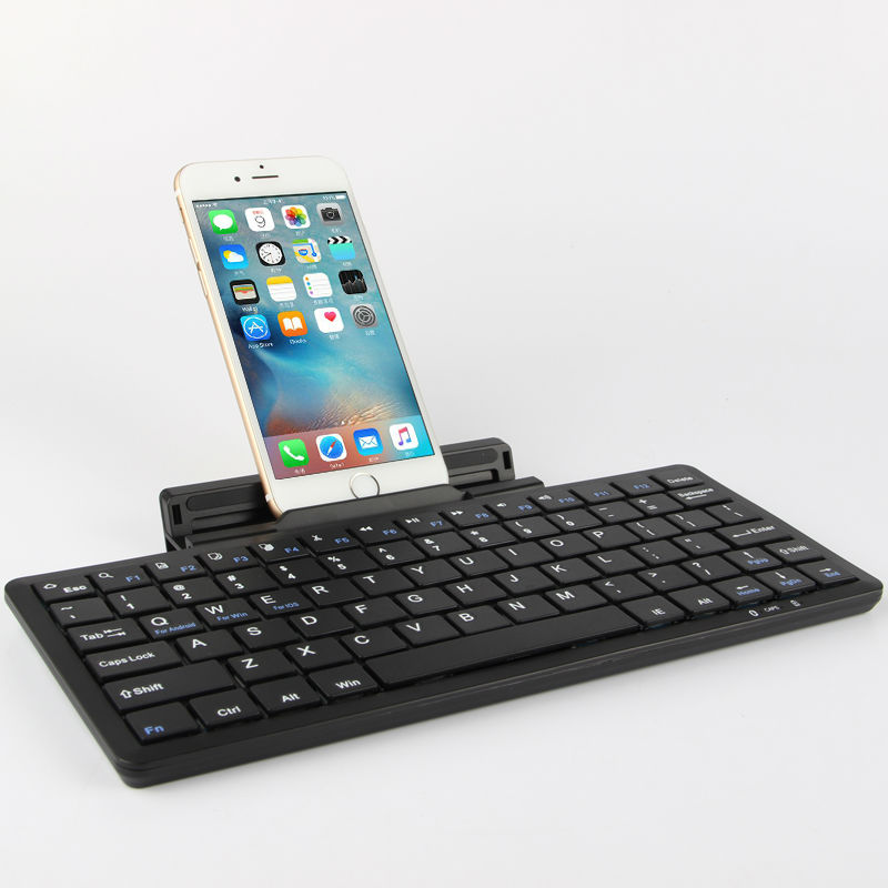 цена на Bluetooth Keyboard For Apple iPhone 7 7Plus Mobile phone Wireless Bluetooth keyboard For iPhone 6 6Plus Plus 5S SE 7 Plus Case