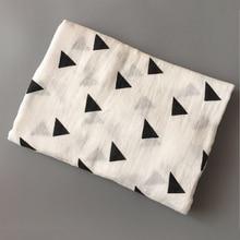 100% Cotton Soft Muslin Newborn Babies Swaddling Blanket Infant Swaddle Towel