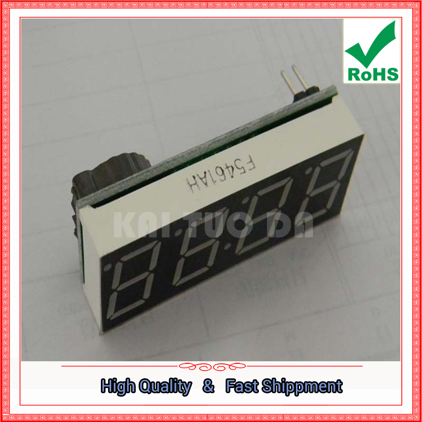 Бесплатная доставка, 3 шт. цифровой трубки электронные часы один-чип комбо электронные часы 4 бит 0.56 DS1302 модуль синхронизации доска (D4A6)