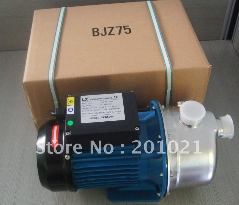 Jet self-priming jet  pump & BJZ75/T Household pure Drinking water pump ,for medium home / garden 1pcs pure water machine self priming pump water pp cotton filter 2 points drinking fountains accessories home appliance parts
