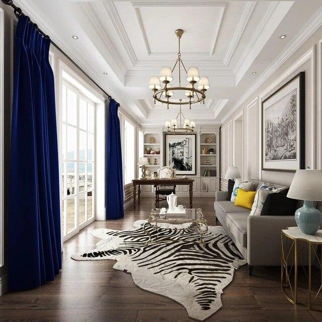 Luxury Velvet Curtains For Living Room Modern The Bedroom Windows Curtain Custom Size