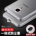 For Meizu M3 Note Mini M3S Pro 6 Silicone Case Luxury Ultra Thin TPU Dustproof Plug Cover For Meizu M3note M3Mini M3 S