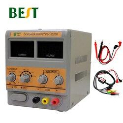 1502DD BESTE Mobiele Telefoon Reparatie Gewijd Voeding Verstelbare Voeding 15V2A Hoge Precisie DC Gestabiliseerde Spanningsbron