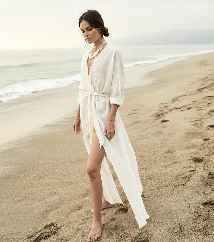 Crochet White Knitted Beach Cover up dress Tunic Long Pareos Bikinis Cover ups Swim Cover up Robe Plage Beachwear 26