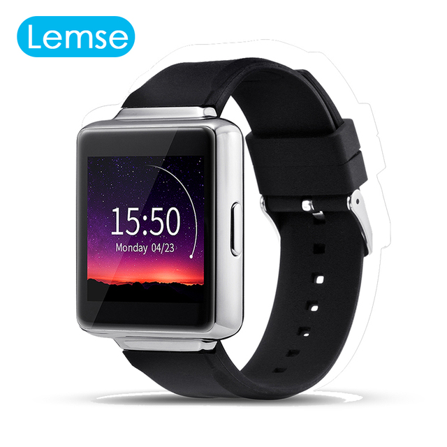 Lemse К1 Наручные Bluetooth 4.0 Android 5.1 OS 512 МБ + 8 ГБ Smart Watch Наручные Часы Для Android IOS Телефон