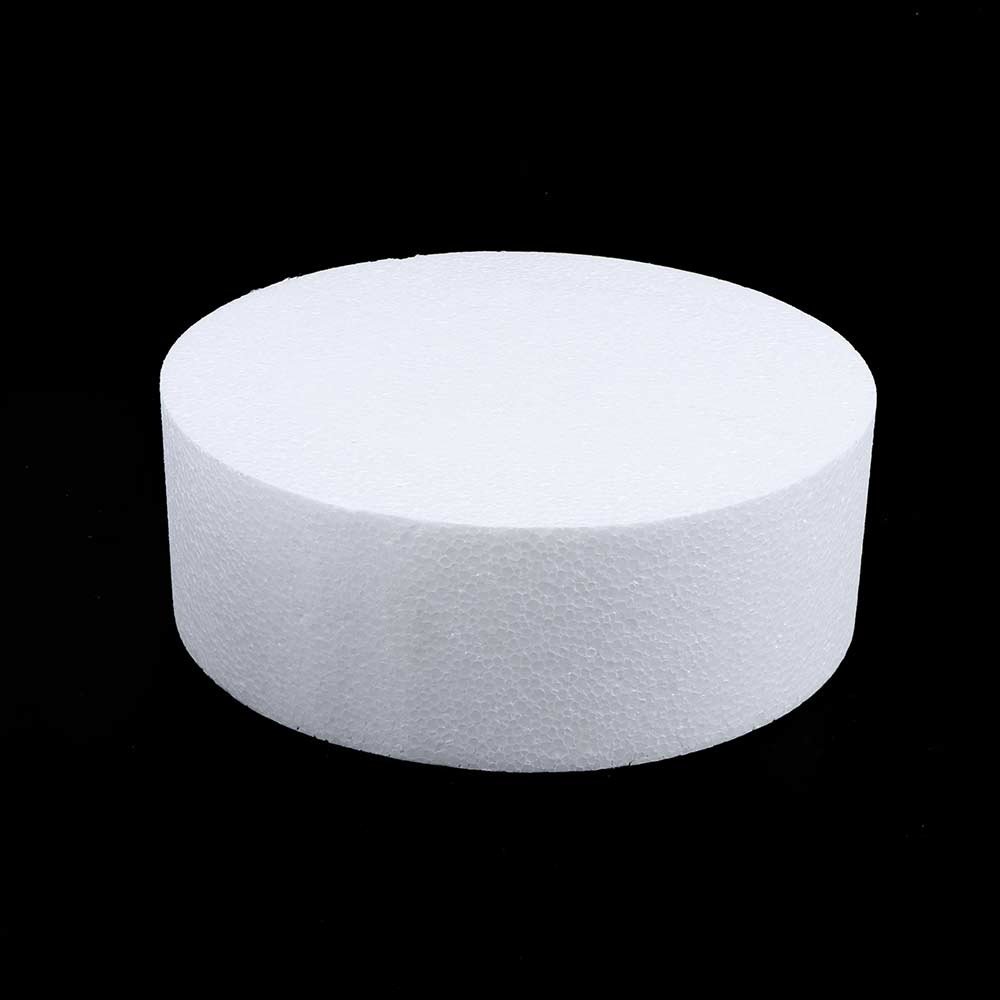 4/6/8 inch cheap Party DIY Practice Model Cake Dummy Sugarcraft Foam Mould Round Styrofoam Kitchen Accessories