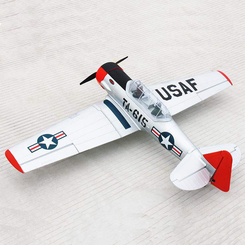 Dynam 1370MM AT-6 Texan Propeller RC PNP/ARF Plane W/ Motor Servos ESC W/O Battery радиоуправляемые самолеты volantexrc tw758 2 texan at 6 pnp tw758 2 pnp