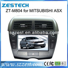 ZESTECH hot selling MITSUBISHI RVR/ASX Car DVD player GPS navigation system with Bluetooth,rear view camera optional