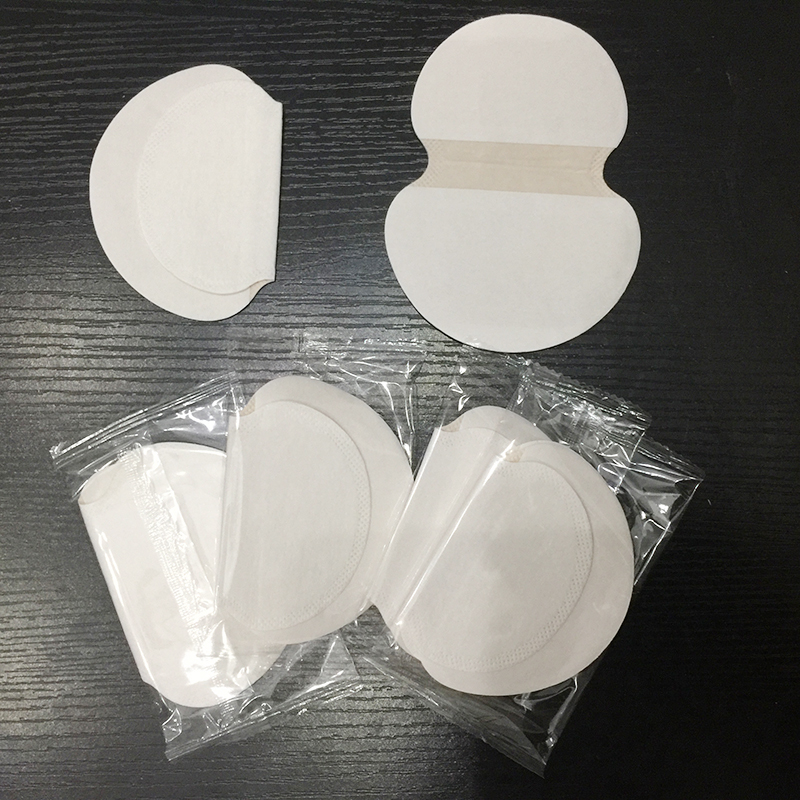 10pcs(5 Pairs) Summer Disposable Underarm Sweat Pads Armpits Absorbing Guard Pads Deodorant Shield Stickers For Dress Clothing(China)