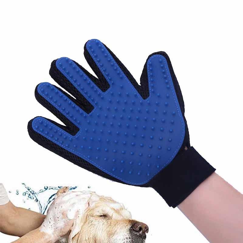 Chats Deshedding Gant Chiens Pour Brosse Pour Animaux de compagnie Chats Peigne Cheveux Auto Nettoyage Remover Toilettage gants pour chien cepillo perro