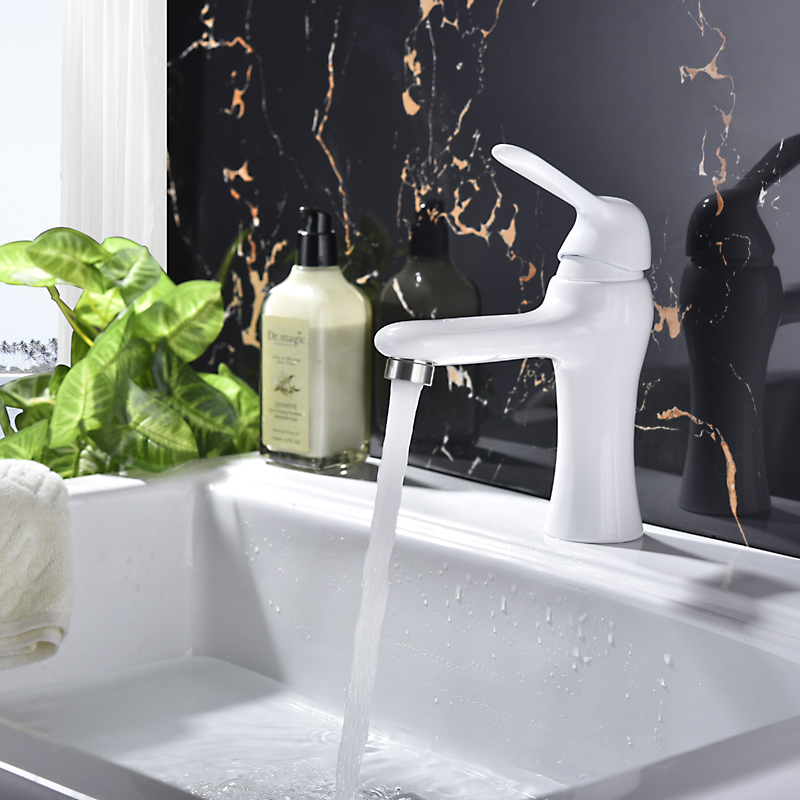 Vidric brushed/paint 304 Stainless steel single handle basin faucet toilet wash basin faucet ceramic basin tap torneira