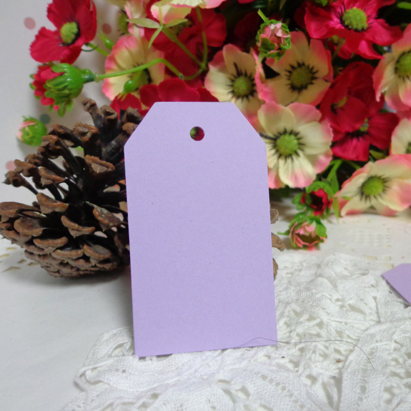 50pc Light Purple Bookmark Trapezoid Blank Paper Gift Tags Price Label Diy Hang Tags Hemp String Included 4x7cm Blank Bookmarks Paper Bookmarkgifts Bookmarks Aliexpress