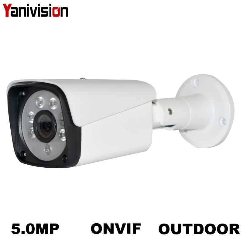 2MP 3MP 4MP 5MP POE IP Câmera de Segurança de Metal Câmera de Rede de Vigilância de Vídeo de 1080P de Visão Noturna Bala CCTV Ao Ar Livre cam H.265