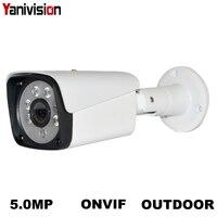 Güvenlik ve Koruma'ten Gözetim Kameraları'de 2MP 4MP 5MP 8MP Güvenlik POE IP Kamera Metal ağ kamerası Video Gözetleme 1080P Gece Görüş CCTV Açık Bullet Kamera h.265