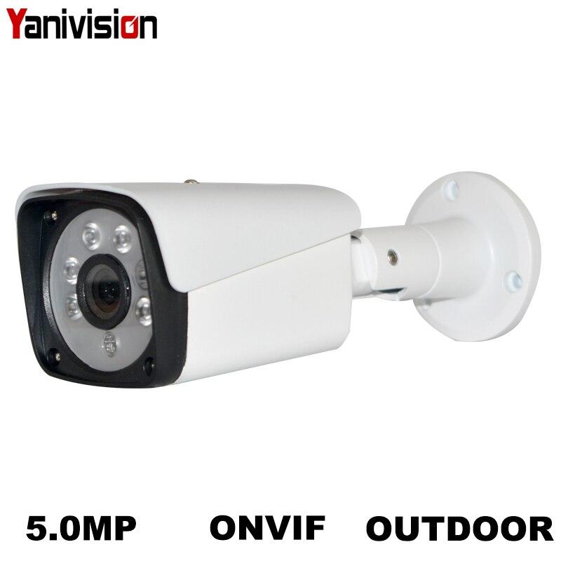 2MP 4MP 5MP 8MP POE IP Câmera de Segurança de Metal Câmera de Rede de Vigilância de Vídeo de 1080P de Visão Noturna Bala CCTV Ao Ar Livre cam H.265