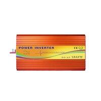 Precio De onda sinusoidal pura 1500W inversor de la energía Solar de DC12V AC110V DC24V AC110V