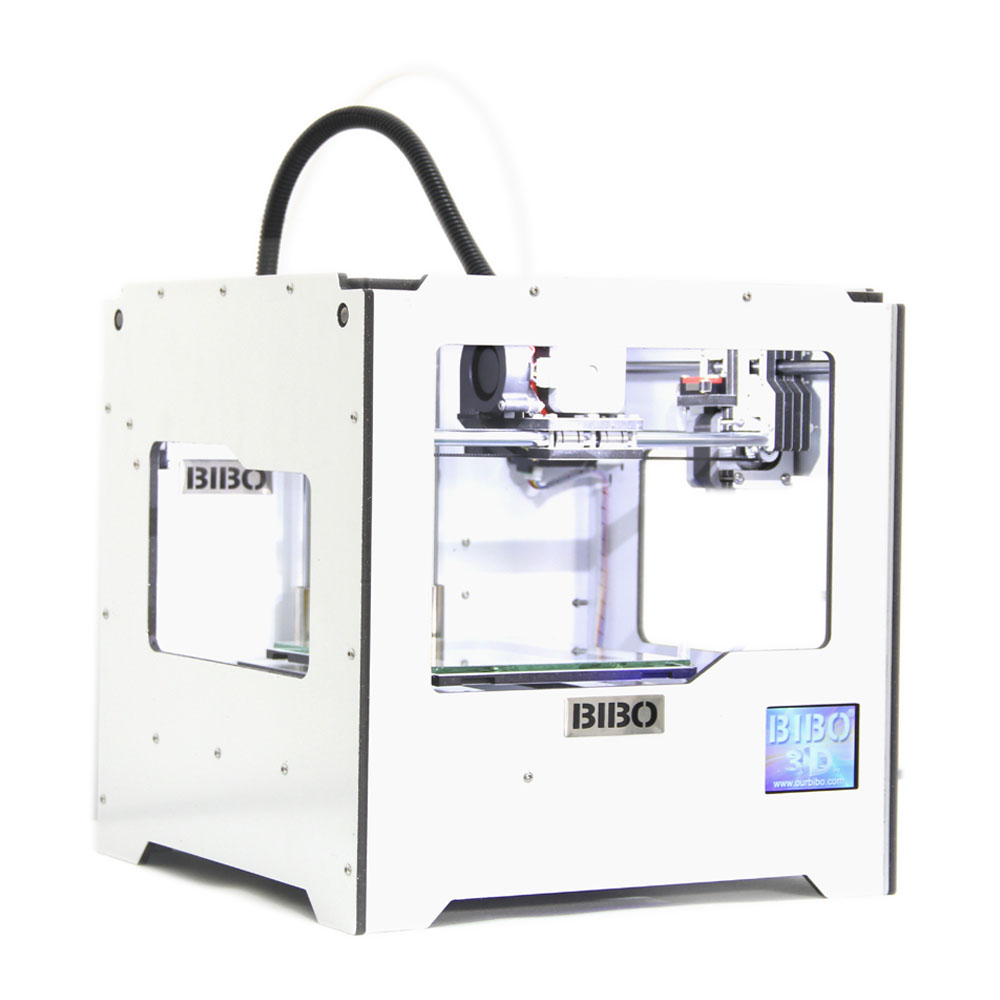 BIBO 3D Printer Laser Engraver Metal Frame Touch Screen Wifi Not DIY Kit Filament Detection Removable Glass Bed Industrial Grade