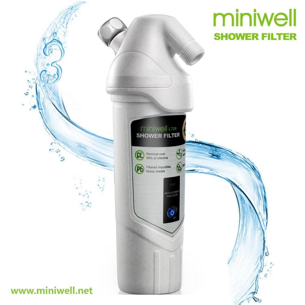 Filtre tête de douche L720/enlever la rouille/chlore résiduel/substances nocives