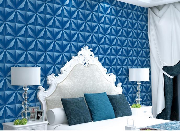 minimalist korean triangle background restaurant irregular stereoscopic living 3d