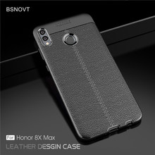For Huawei Honor 8X Max Case Soft Silicone Leather Shockproof Case For Huawei Honor 8X Max Case For Honor 8X Max Cover 7.12 huawei honor 8x max case dual layer armor tpu pc shell shockproof back cover for huawei honor 8x max case honor 8x max funda 7 2