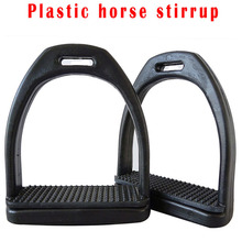 2 шт. конский стремена для верховой езды пластиковое седло лошади противоскользящая педаль лошади супер легкий Конный безопасности Оборудование
