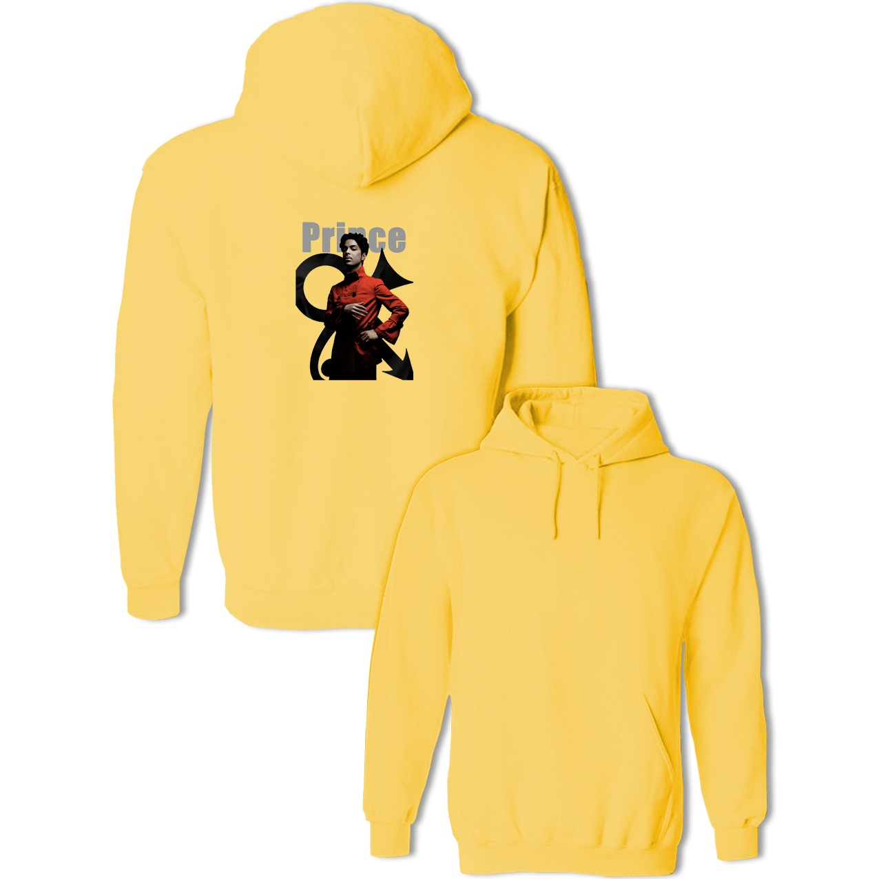 Popular Singer Prince Rogers Nelson Character Design Sweatshirts Womens Mens Cotton Hoodies Fashion Long Sleeve Pullovers Tops