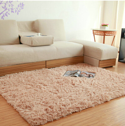1200mmx2500mmx45mm High Quality Area Rug Material Modem White Room CarpetChina