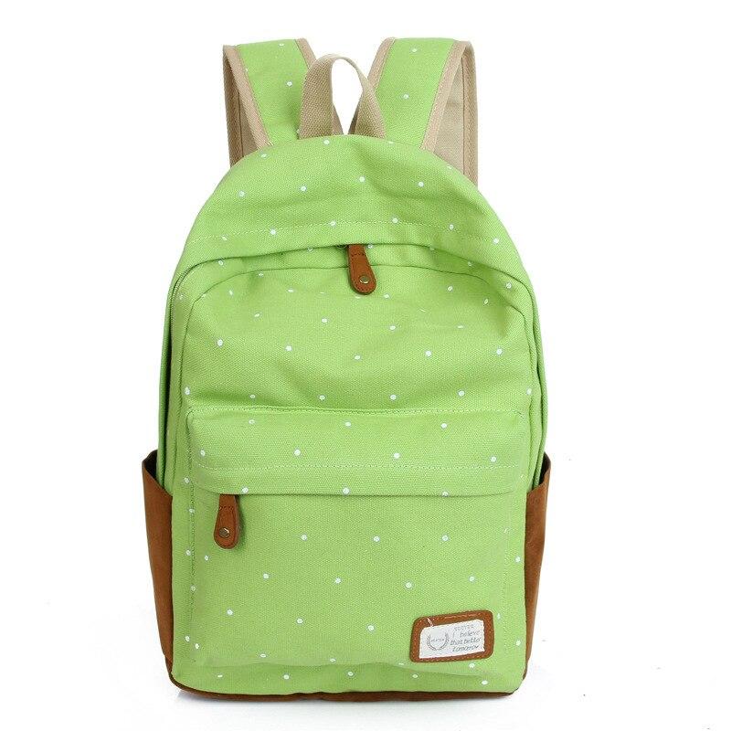 aab8aed333e85 Mochilas para meninas adolescentes 2015 mochila de lona sacos de viagem  saco de escola mochila nova Moda por atacado mulheres Fábrica em Mochilas  de Bolsas ...
